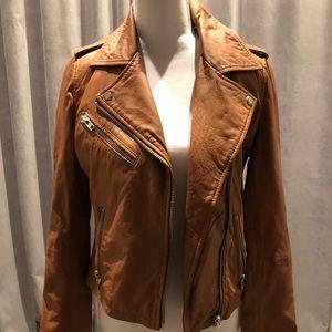DOMA Leather Moto Jacket